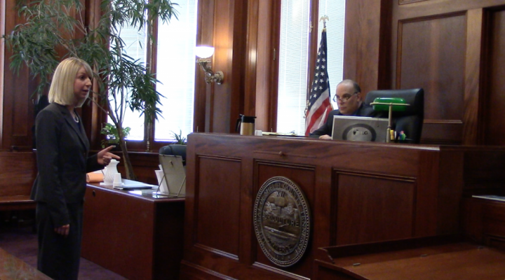 Attorney Questioning Witness