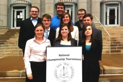 EKU Mock Trial Places 15th at National Championships