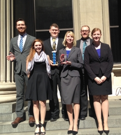 EKU Mock Trial Finishes First in Louisville, Advances to Nationals