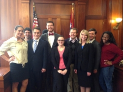EKU Mock Trial Team at Memphis ORC